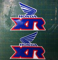 Adesivi serbatoio Honda XR 600 R  cristal - adesivi/adhesives/stickers/decal