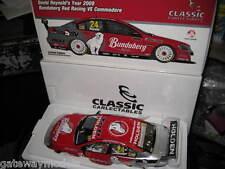 CLASSIC 1/18 DAVID REYNOLDS BUNDABERG RED 2009 HOLDEN COMMODORE VE V8's 18384