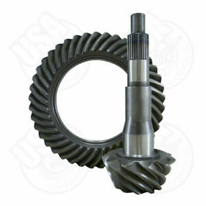 """USA standard ring & pinion gear set for '10 & down Ford 10.5"""" in a 3.55 ratio."""
