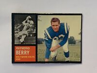 1962 Topps #5 Raymond Berry SP EX Baltimore Colts HOF