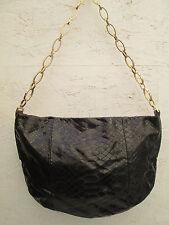 -AUTHENTIQUE sac à main FRANCESCO BIASIA  cuir reptile TBEG vintage bag