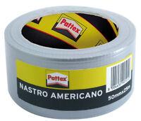 NASTRO AMERICANO PATTEX 50 mm x 25 mt GRIGIO adesivo universale