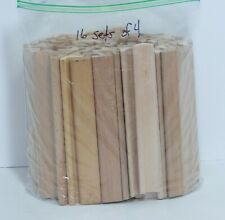 Lot Of 64 Scrabble Tile Holder Wooden Racks 2 Mixed Styles (16 Sets of 4)