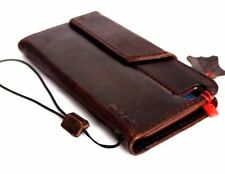 genuine vintage leather Case for apple iphone 6s plus book wallet cover thin 6 s