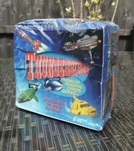 1999 THUNDERBIRDS PREMIUM TRADING CARDS SERIES 1 UNOPENED BOX 36 PACKS CARDS INC