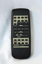 Genuine OEM Sharp Audio System Remote Control RRMCG0093AWSA