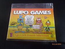 LUPO GAMES n° 1 - IL GIOCO DELLE DOMANDE IMBARAZZANTI - SUPPL.LUPO ALBERTO n° 97