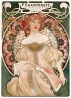 Art NouveauBy Alphonse MuchaVintage PosterA1 A2 A3#Poster 6