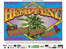 Seattle HEMPFEST® Official 2014 Flower Poster