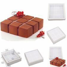 1PCS Silicone 3D Geometric Simplicity Mold Cake Decorating Baking Tools Chocolat
