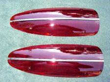1958-1960 Corvette Taillight Lenses 1959  Flawless Lens--Pair