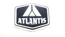 """Atlantis,Sticker, Very Rare & Very Cool, 3-1/4"""" x 2-1/2"""""""