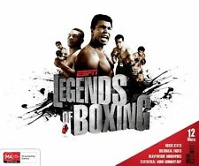 ESPN - Legends Of Boxing (DVD, 2012, 12-Disc Set), NEW REGION 4
