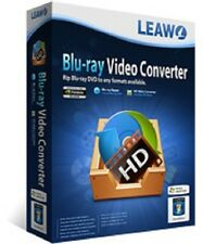 Leawo Blu-ray + HD Video Converter Suite Software Discs & HD to AVI MP4 MKV 3D