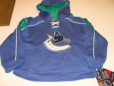 2012-13 Vancouver Canucks  Jersey Hoodie Age 7 L Kids NHL Hockey Toddler Child