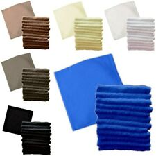 100% Egyptian Cotton 550 GSM Face Hand Cloth Towels Flannel 2 3 6 Packs