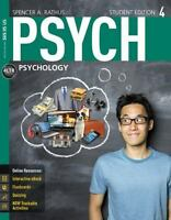 New, Engaging Titles from 4LTR Press: PSYCH by Spencer A. Rathus (2015, Paperba…