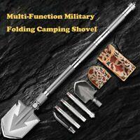 Ultimate Survival Tool 23-in-1 Multi-Purpose Folding Shovel Military Tactical
