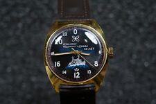 Russian mechanical watch RAKETA Atomic Icebreaker Lenin 24H Black dial Case 39mm
