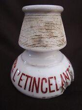 ancien pyrogène-allumoir- bar-l'étincelante-le puy en velay-porcelaine-J.Giraud