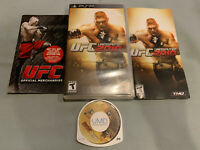 UFC Undisputed 2010 - Sony PSP THQ Video Game - COMPLETE in Original Case!