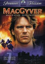 MacGyver: The Complete Final Season 7 [4 Discs] 09736070874 (Dvd Used Very Good)