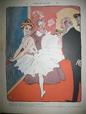 LE RIRE N° 106 CARICATURE HUMOUR DESSINS METIVET BURET HUARD FLORES 1905