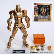 IRON MAN SCI-FI REVOLTECH/ FIGURA N.052 IRON MAN XXI MK 21 15,5 CM IN BOX 6""