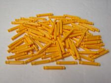 "100 MICRO KNEX YELLOW .99"" RODS Mini K'nex Parts / Pieces Lot"