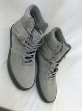 CREATIVE RECREATION  Hi Grey Suede Leather MEN'S FASHION SNEAKERS 10M