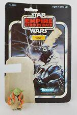 1980 Kenner Star Wars Empire Strikes Back Yoda 32 Back Card Vintage Figure ESB