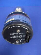 MKS Baratron 122AA-00002BB Type 122A Pressure Transducer,  2 TORR