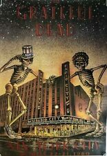 """Grateful Dead """"Radio City Music Hall"""" Commercial Poster From Late 80's"""