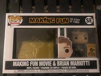 Funko Pop Making Fun DVD/Blu Ray Brian Mariotti LE 5000 2020 Exclusive In Hand