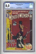 Wonder Woman 199 CGC 8.0 Classic bondage cover