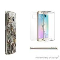 Tri Max For Samsung Galaxy S6 Edge Plus SM-G928 Full Body Wrap Case Autumn Camo