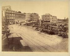 Photo Albuminé Napoli Naples Italie Vers 1870/80 # 6