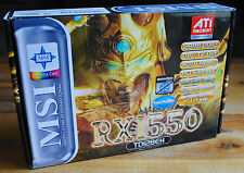 Carte graphique MSI RX1550 (Ati RADEON) 128MB DDR2 (Graphics Card) NEUVE New