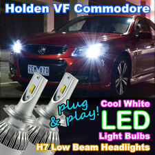 #H38 Holden/HSV VF Commodore H7 Low Beam LED Bulbs Upgrade Kit (HID Cool White)