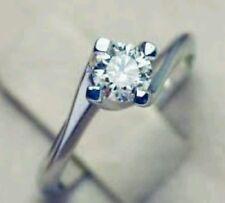 Anello Solitario Valentino oro 18 KT diamante ct AFFARONE STOCK donna 50% sconto