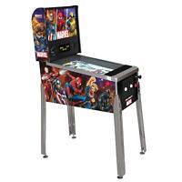 Marvel Retro Arcade1UP Digital Pinball Machine Free Adapter Arcade 1UP Riser New