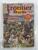 FRONTIER STORIES 1940. ART-PULP.