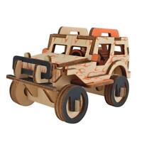 Woodcraft Construction Kit- Car 3D Wooden Model Puzzle KIDS/ADULTS LO