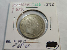 I155 Denmark 1875 Krone