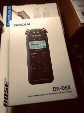 NEW Tascam DR-05X Stereo Handheld Digital Audio Recorder & USB Audio Interface