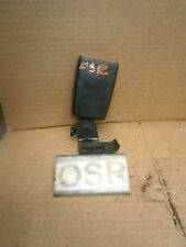 VAUXHALL CORSA D 2007 3DOOR OFFSIDE DRIVER SIDE REAR SEATBELT CLASP 604620561F