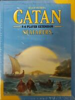Catan 5-6 Player Ext. Seafarers(Factory sealed) & Traders & Barbarians open box