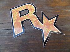 $ $ $ $ $ $ RARE Rockstar Games Vinyl Autocollant $ $ $ $ $ $ officiel $ $ $ $ $ $ GTA $ $ $ $ $ $