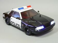 1/10 RC Car POLICE KIT -Top Light Bar - Police Decals -Police Flashing Lights