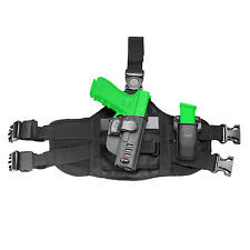 Fobus Thigh Rig Adaptor for all Fobus Paddle Holsters & Singles Magazine EXND2